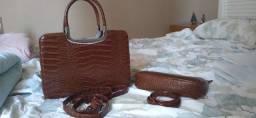 Bolsa cor caramelo