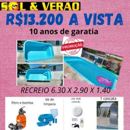 piscina 6metros instalada barato