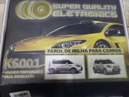 Farol de milha kia soul 2010 .