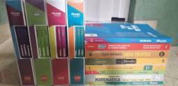 Livros SESI primeiro e segundo ano médio