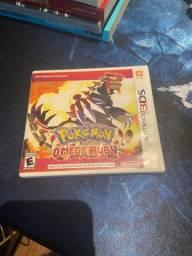 Pokémon Omega Ruby - Para 3DS - Mídia Física