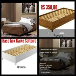 Base box Kaike Solteiro/ Montagem Grátis