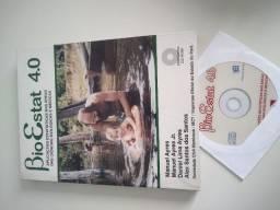 Livro bioestat 4.0 com CD