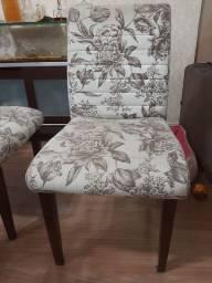 Cadeiras de Sala de Jantar _ Jogo com 4 cadeiras usado