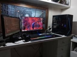 Kit gamer completo, Computador Amd Ryzen 5 3600, GTX 1650 4GB, 32GB Ram, 512GB ssd