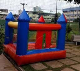 Título do anúncio: Castelinho, Tobogã P e G e Futebol de Sabão - Aluguel de Brinquedos Infláveis