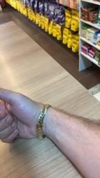 Pulseira ouro 18k 15.3g