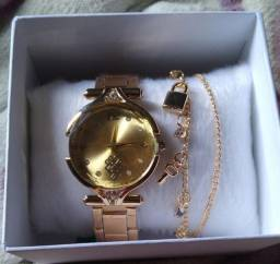 Relógio + pulseira