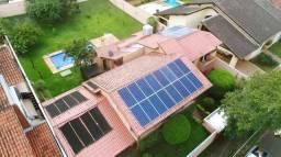 Energia solar economize até 95% em sua conta