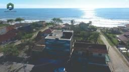 Apartamento com vista para o mar, prédio novo, churrasqueira na sacada