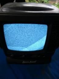 TV pequena portátil