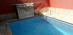 Casa com piscina para o fim de ano em mongagu