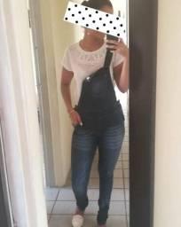 Macacao jeans da L2M