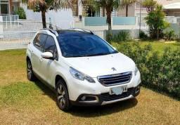 Peugeot 2008 Grife automático + teto, impecável, ano 2016 garantia até 2021 - 2016