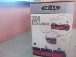 Triplo buffet slow cooker