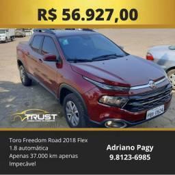 Toro Freedom Road 1.8 Automática Flex 2018
