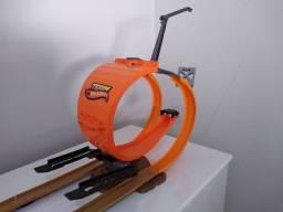 Pista Hot Wheels bungee jump