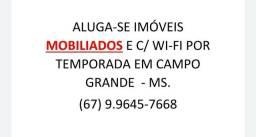 Excelente custo benefício! Aluga-se casas mobiliadas em Campo Grande - MS