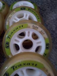 Rodas patins traxart seminovas 84 mm 82a