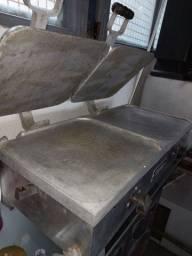 Chapa e forno industrial