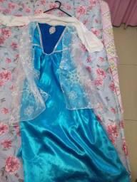 Vestido Frozen princesa