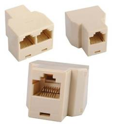 Emenda Duplicador para Conector RJ-45 - 81417