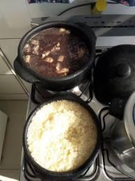 Panelas de barro para fogão  a gás