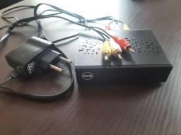 Conversor digital de tv K900 semi novo