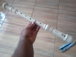 Flauta contralto barroca.
