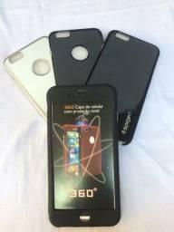 Capinhas 3D 360° & Silicone Proteção Dupla Face IPHONE 6/6s Plus