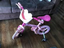Bicicleta infantil Caloi Barbie Aro12