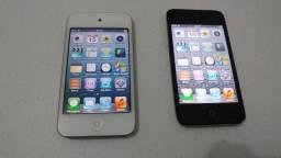 Lote com dois Ipods 4 geraçao sem acessorios