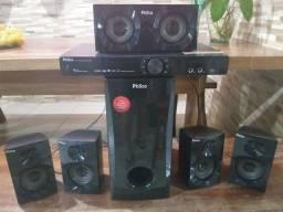 Home theater pht670 com HDMI Philco