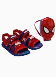 Sandalia Homem aranha  + super mochila!'
