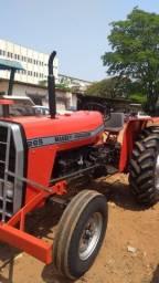 Trator Agrícola Massey Ferguson 265, ano 82,  4x2 totalmente revisado e reformado