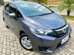 Honda - Fit LX 1.5 Aut. CVT Flex / Pneus novos / Revisado / Bancos de Couro / Periciado