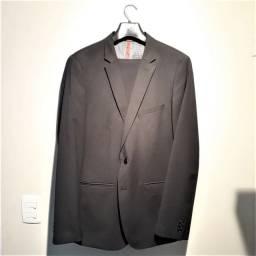 Terno Completo Zara (NOVO) - Tailored Fit - Cinza Escuro