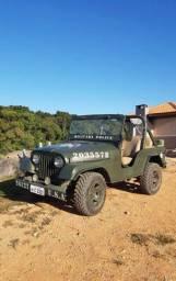Jeep Willys 57 com documento