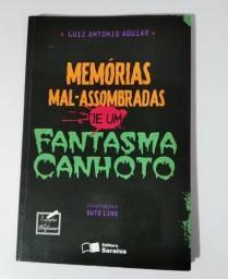 Livro Memórias mal-assombradas de um fantasma canhoto