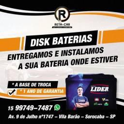 Título do anúncio: Disk Baterias Sorocaba