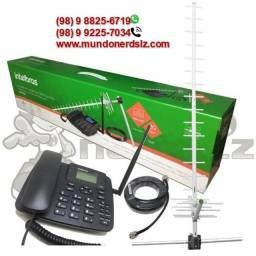 Kit Telefone Rural GSM Intelbras em são luís ma, loja mundonerdslz