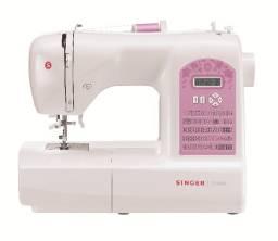 Máquina De Costura Singer Starlet 6699 Branca E Rosa 220v