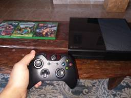 Xbox One console 1540 + 3 jogos + controle