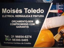 SERVIÇOS, ELÉTRICA,HODRAULICA,PINTURA,LIMPEZA DE TERRENOS