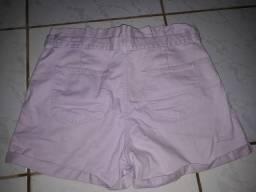 Short jeans lilás