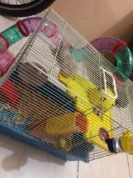 Gaiola para hamster + hamster