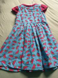 Vestido estampa melancia