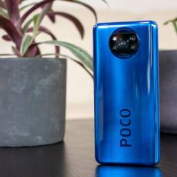 Poco X3 6GB/128GB Azul Índia 1790 por