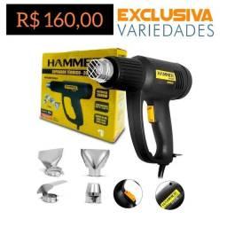 Soprador Térmico Com Acessórios 1900W Hammer + Entrega Grátis