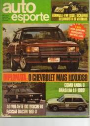 Revista Auto Esporte (Ano XVI Nº 183) 1980